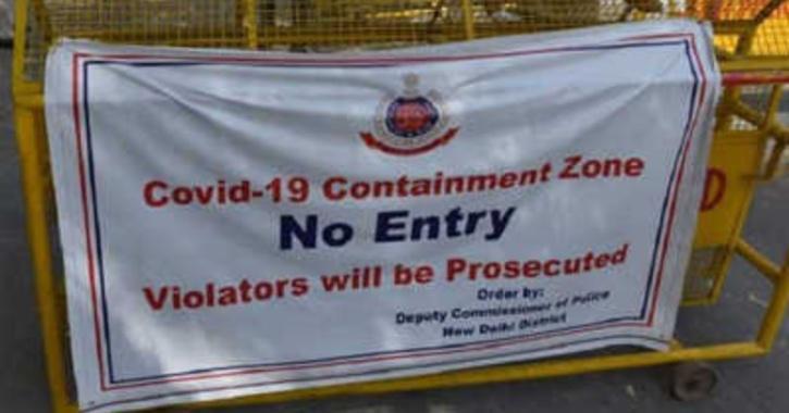 covid-19 containment zone