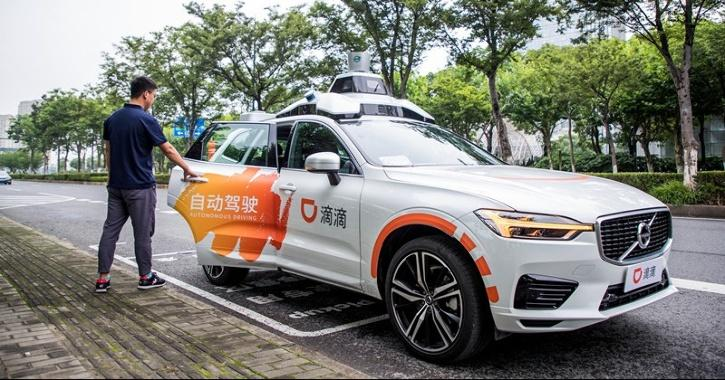 Didi Chuxing, Ride Hailing Apps, Ride Hailing Services, Robotaxis, Autonomous Cars, Shanghai, Driverless Cars, Self-Driving Cars, Autonomous Technology, Technology News, Auto News