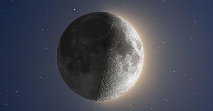 Moon HDR image