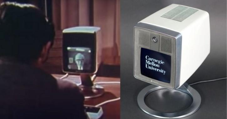 world's first video call