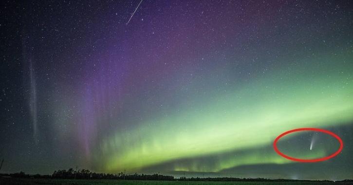 Aurora, Comet and Meteor shower