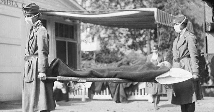 1918 flu deaths