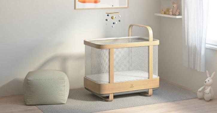 Cradlewise smart crib for wholesome baby sleep