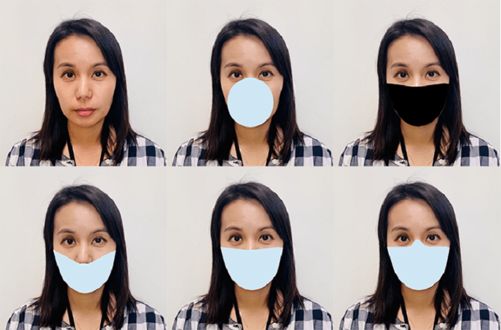face recognition software detection error rate with face mask on