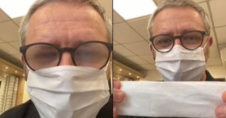 How to avoid glasses getting fogged