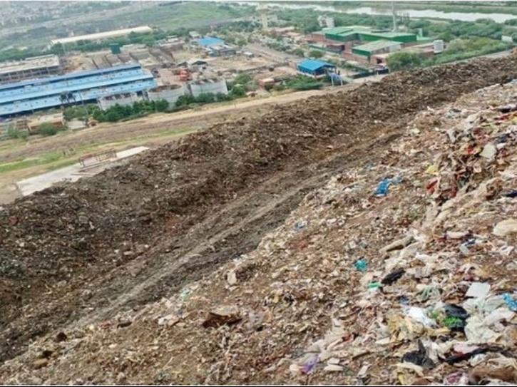 ghazipur landfill gautam gambhir