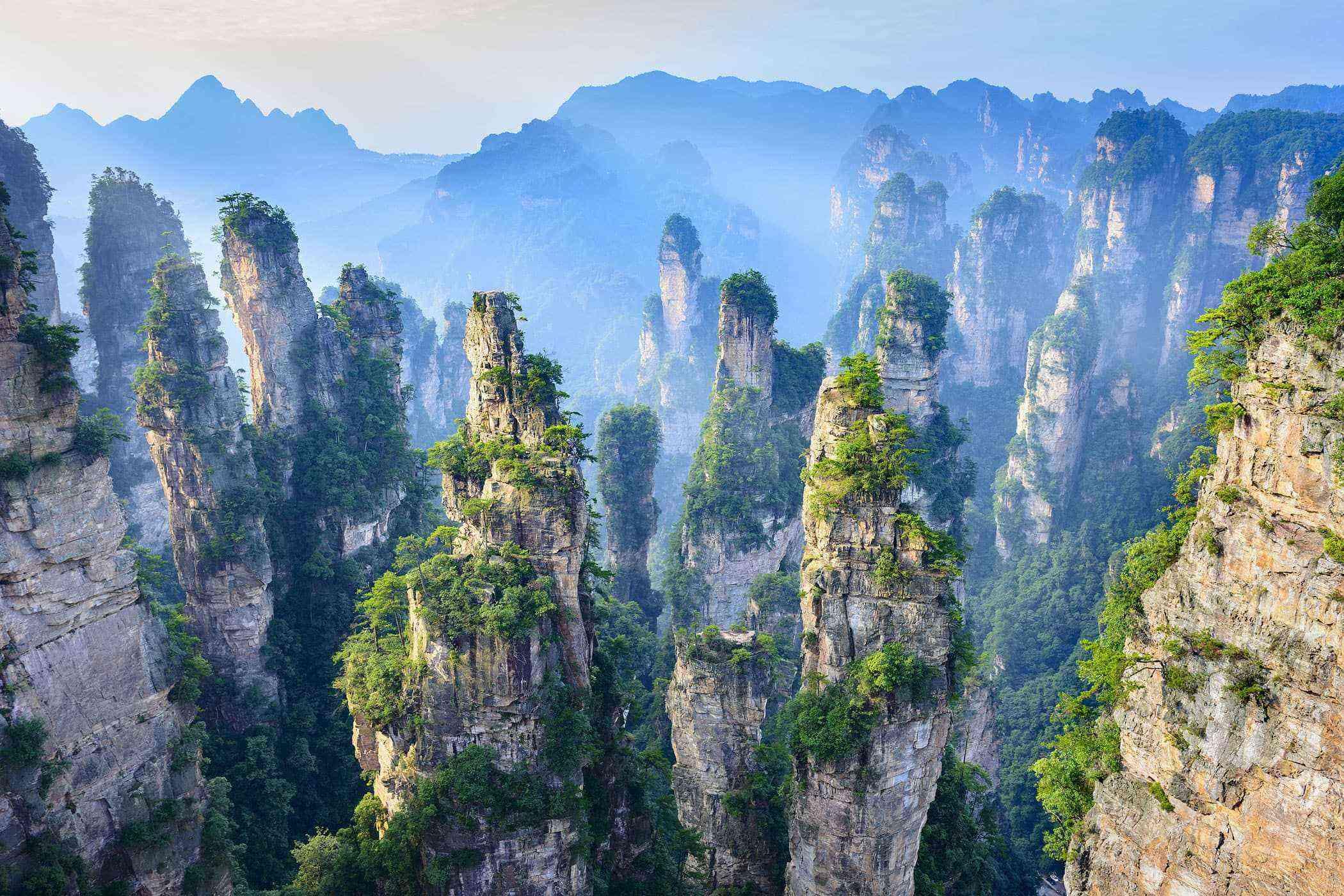 Floating Mountains - Avatar: Zhangjiajie Park, China