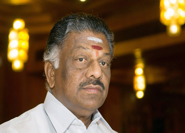 Deputy Chief Minister O Panneerselvam