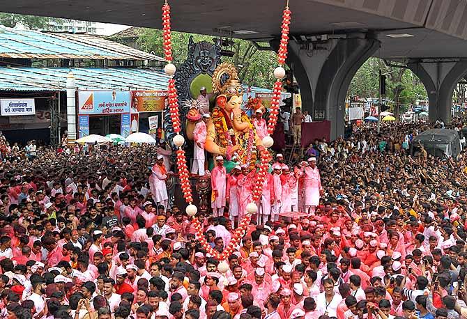 Lalbaughcha Raja Ganeshotsav