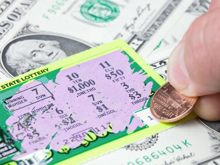 Man wins lottery on wrong ticket