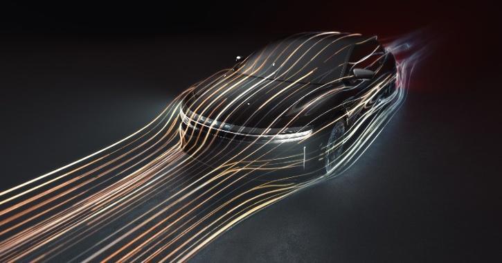 Lucid Air, Lucid Air Aerodynamic Efficiency, Electric Sedan, Lucid Motors, Lucid Air News, Lucid Air Details, Lucid Air Range, Lucid Air Design, Tesla Model S, Coefficient of Drag, Formula One, Technology News, Auto News, EV News