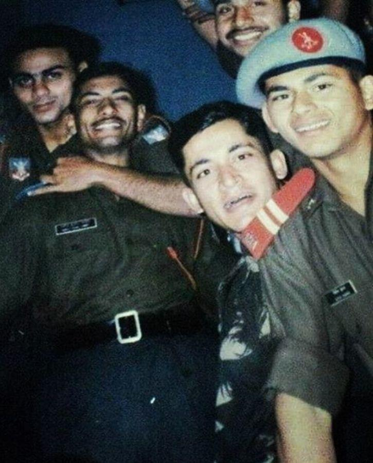 Manoj Kumar Pandey with Fellow Comrades