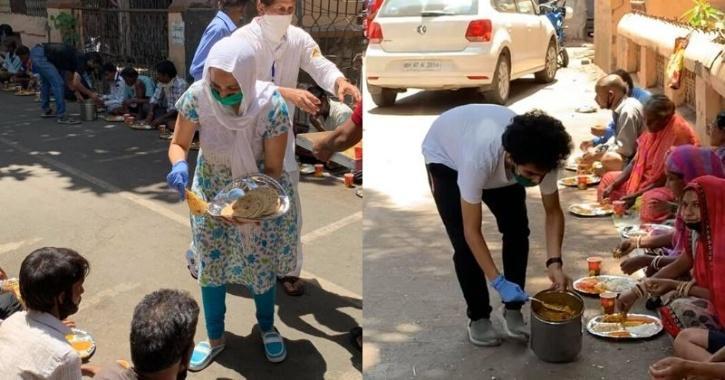 Harsh Thali And Parathas - Mom Makes, Son Sells
