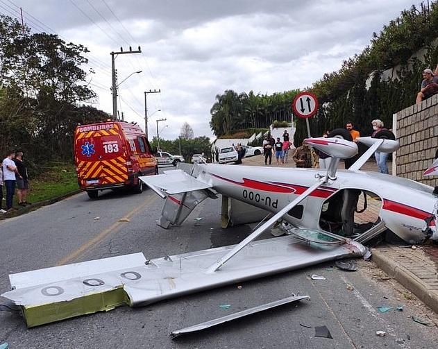 Plane crash in Brazil