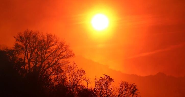 global warming and climate change on rise because of rising carbon dioxide levels