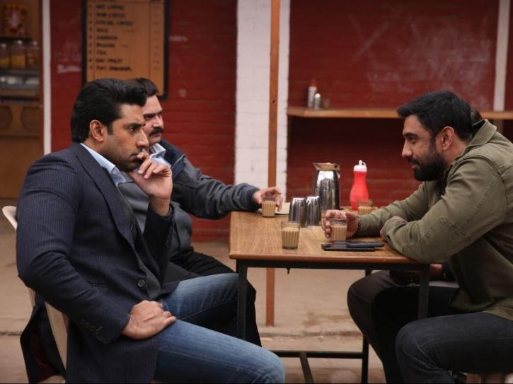 Amit Sadh in Breathe into the shadows.