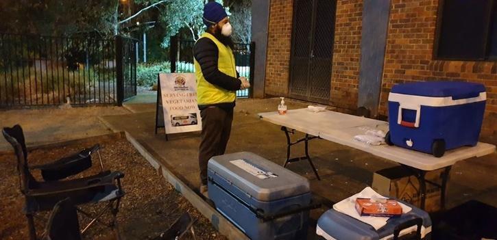 Sikh volunteers in Australia