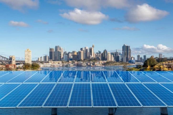 Sydney renewable source- solar energy