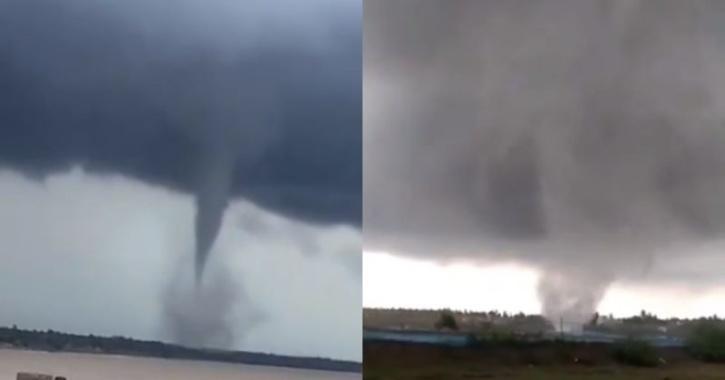Tornado in Puduchery