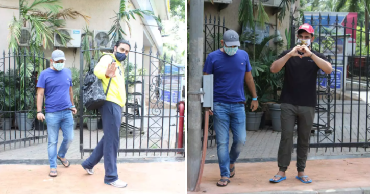 Paparazzi Are Back At Work As Celebrities Step Out For Jogging, Dubbing & Other Work