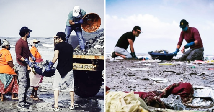 In Midst Of Heavy Rains & Pandemic, Randeep Hooda Continues To Clean Beaches & Save The Planet