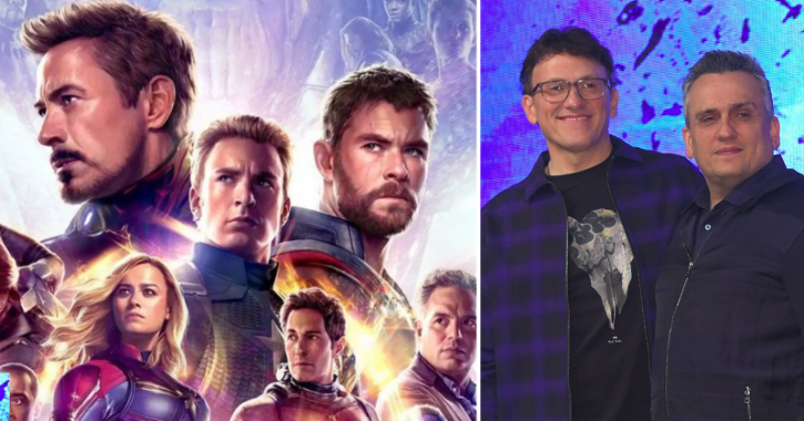 Avengers Endgame directors Joe and Anthony Russo.