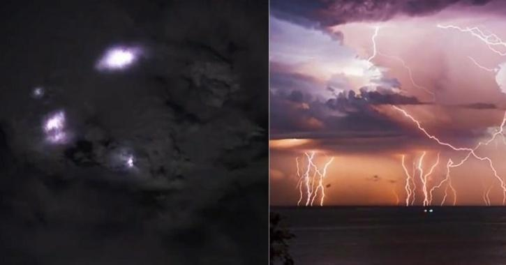 lightning captured from space nasa astronaut
