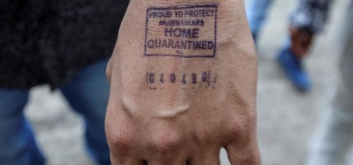 Home Quarantine Stamp India