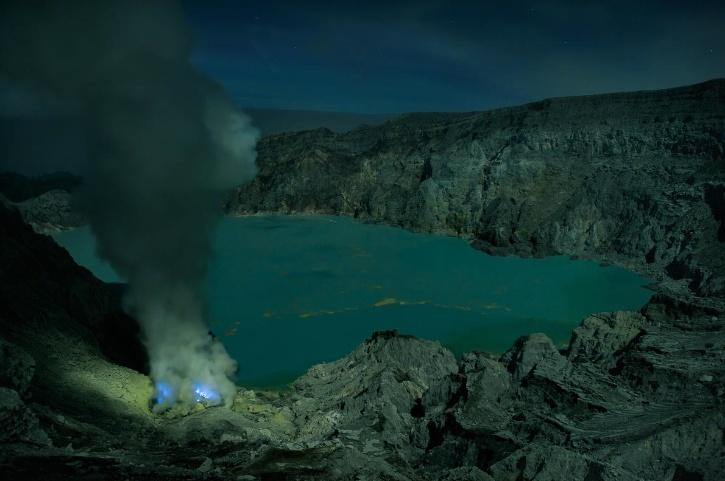 Kawah Ijen Crater Lake