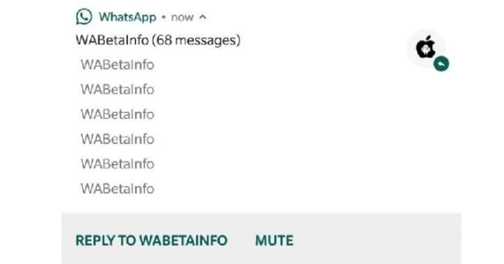 WhatsApp mute all notifications