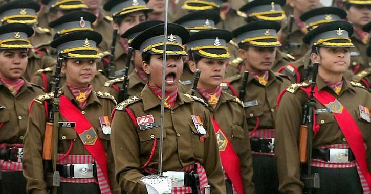 women in para military forces