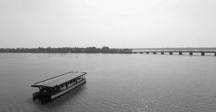 Aditya on the waters