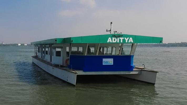 Aditya solar ferry