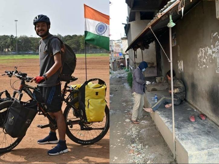 Philem Rohan Singh, Philem Rohan Singh Cyclist, Philem Rohan Singh Manipur, Philem Rohan Singh Homeless, Manipur Homeless
