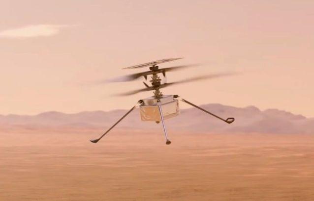 NASA mars helicopter Ingenuity Mars
