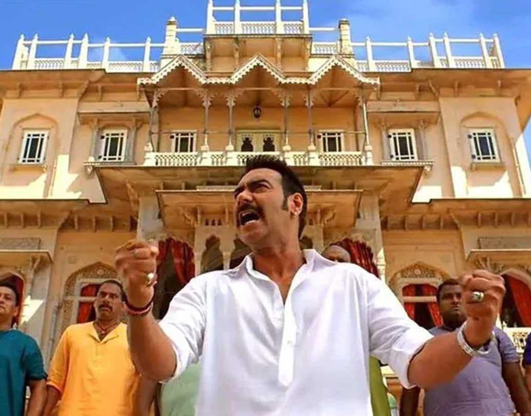 Bol Bachchan: Chomu Palace, Rajasthan