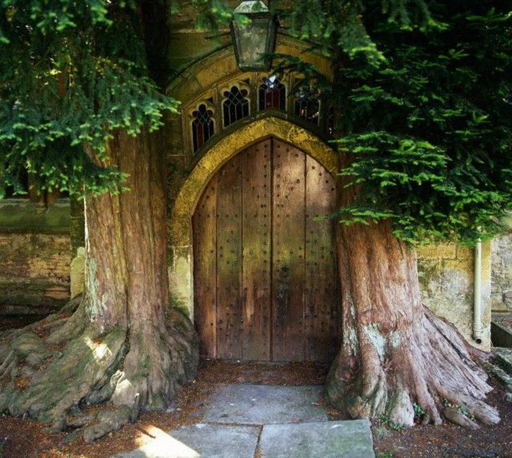 The Lord of the Rings: St. Edward's Church's Door, England