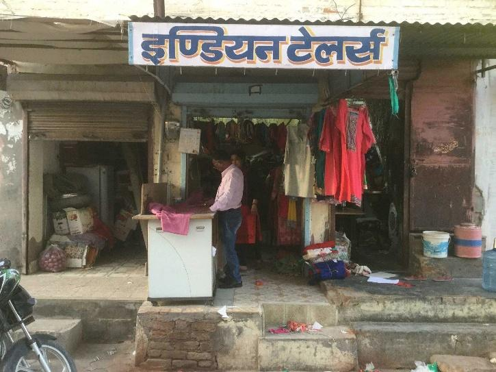 Tailor shop in India