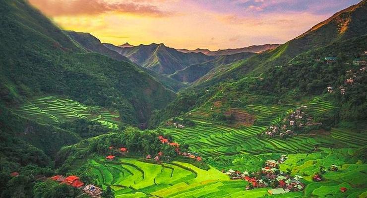 Avengers - Infinity War: Banaue Rice Terraces, Philippines