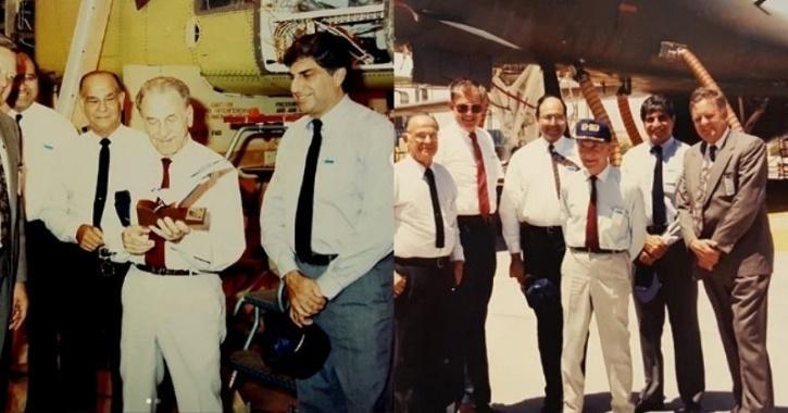 Ratan Tata and JRD Tata