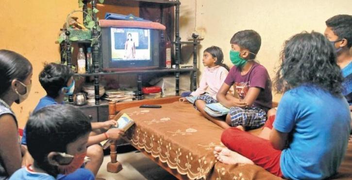 virtual classes on TV in Kerala