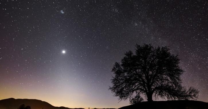 Saturn visible with naked eye