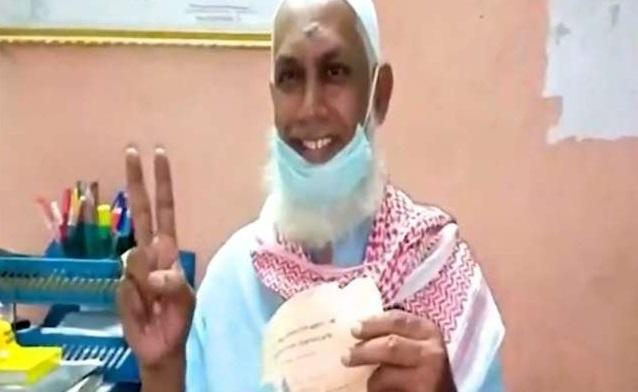 man passed class 10 after 33 years