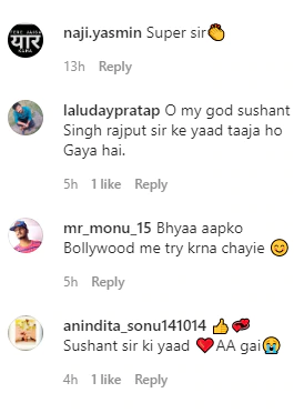 Comments on Sachin
