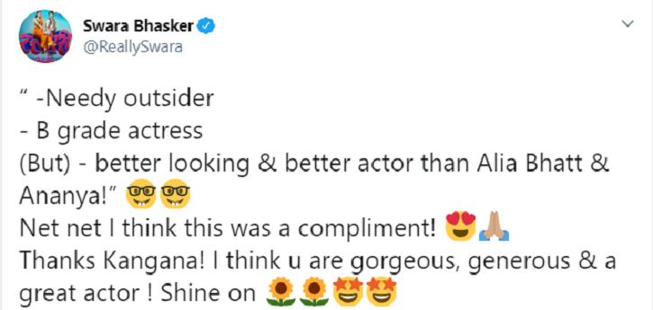 Swara Bhasker to Kangana Ranaut.