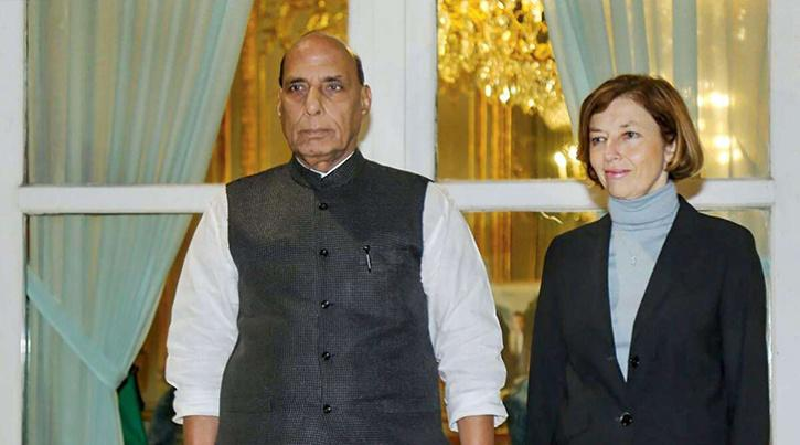 French Defence Minister Condoles Death Of Indian Soldiers