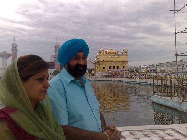 Jaspal and Savita Bhatti
