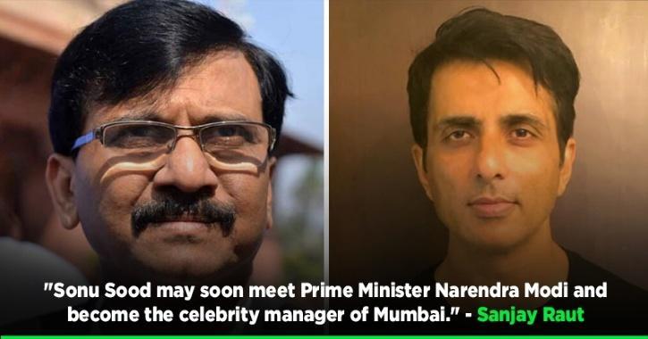 Shiv Sena Slammed For Calling Sonu Sood