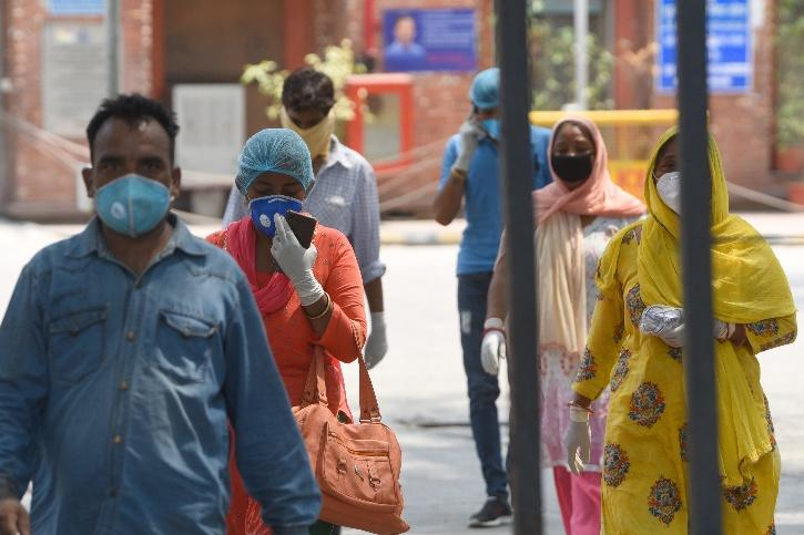 COVID-19 cases rise in india