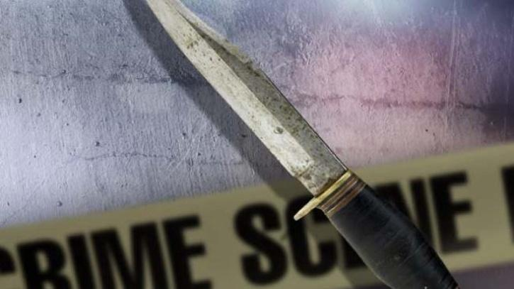 A man stabbed his wife and killed her
